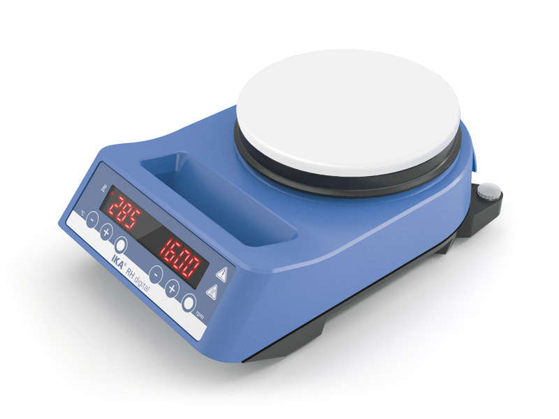Agitatori magnetici con riscaldamento linea IKA