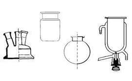 Reattori in vetro modelli vari
